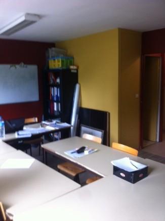 La deuxième salle de travail et d'activités