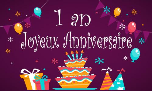 Image Anniversaire 1 An joyeux anniversaire ! – association des racines et des feuilles