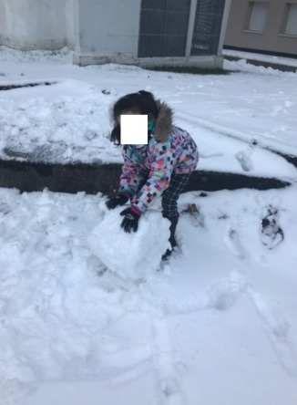 Bonhomme de neige.2.01.03.2018